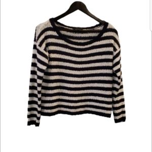 TALULA striped knit sweater